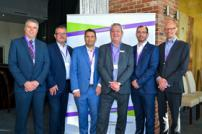 Sean Chenery, Christ Squires, Ewan Green, Simon Gray, Peter Gudde and Jonathan Reynolds at the T4G Energy Seminar event
