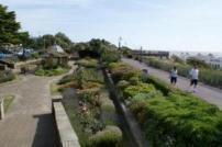 Walking on Clacton Seafront