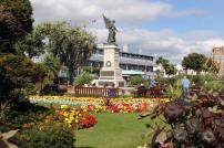 Clacton seafront gardens war memorial