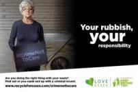 crime not to care, your rubbish your responsibility